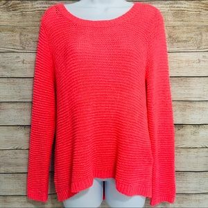 Divided Oversized Sweater Neon Pink